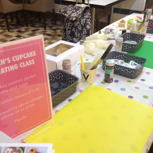 Children's Corporate Cupcake Decorating London