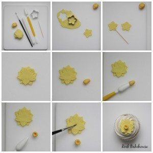 Daffodil Sugarcraft Tutorial