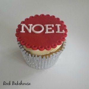 Noel Cupcake Tutorial
