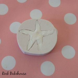 Starfish Shell Cupcake Topper Tutorial