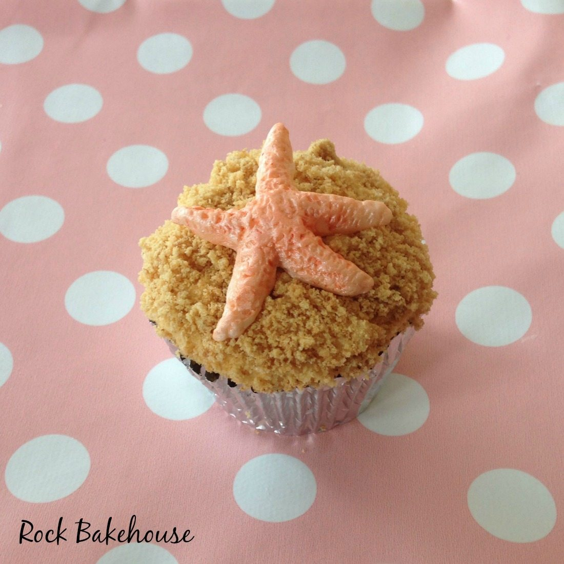 Starfish Shell Cupcake Topper