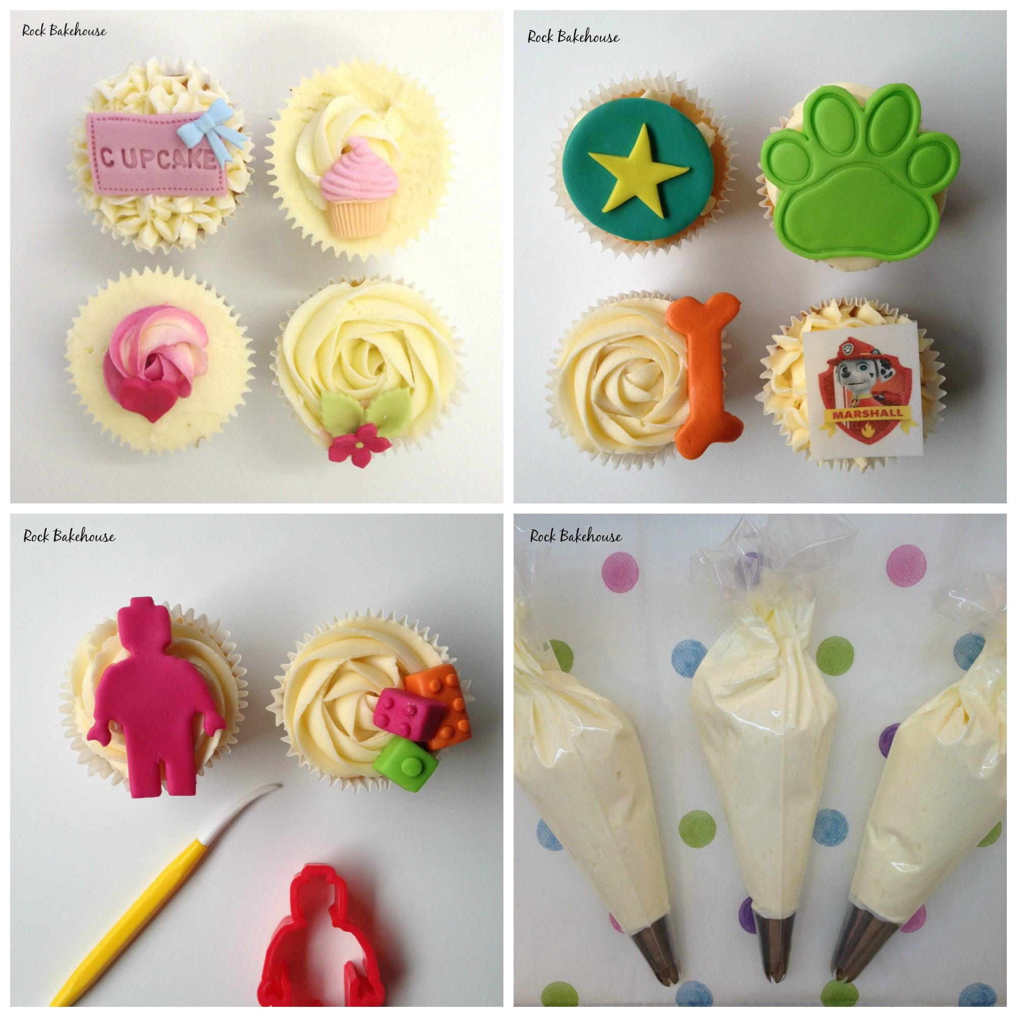 Children S Cupcake Decorating Parties Rock Bakehouse