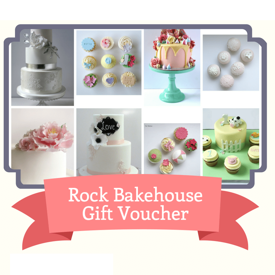Cake Decorating Store Voucher Codes : Rock Bakehouse Cake Courses and Cake Supplies