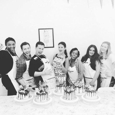 Ganache Drip Cake Class