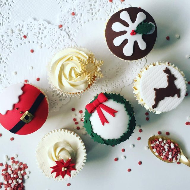Weve jazzed up our Christmas cupcake class limited space lefthellip