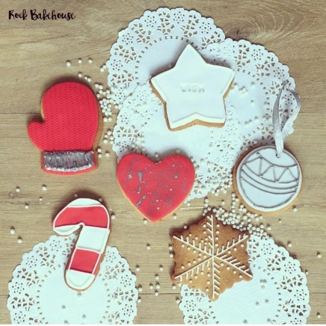 Its our first Christmas biscuit class this morning  perfecthellip