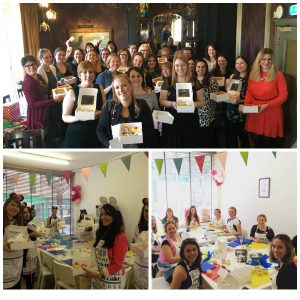Hen Party Cupcake Decorating Party London