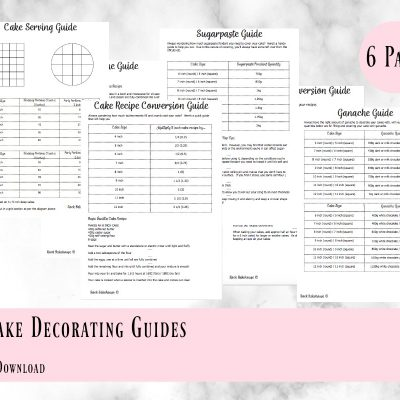 Online Cake Decorating Guides