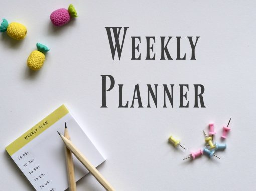 Printable Small Business Weekly Planner
