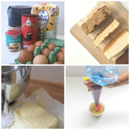 Online Cake Cupcake Baking & Buttercream Class