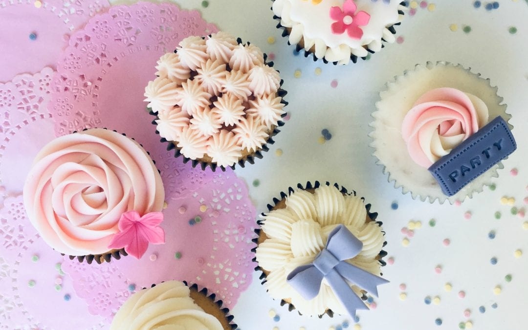 *New* Cupcakes & Buttercream Swirls
